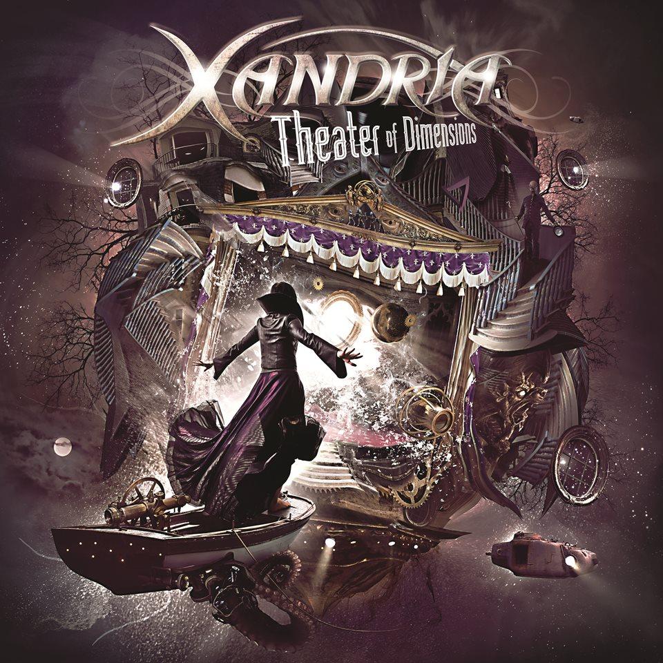 Xandria Theater Of Dimensions Album Artwork