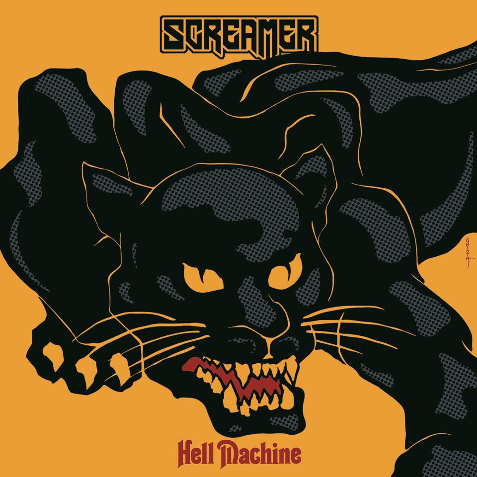 Screamer Hell Machine Album Artwork