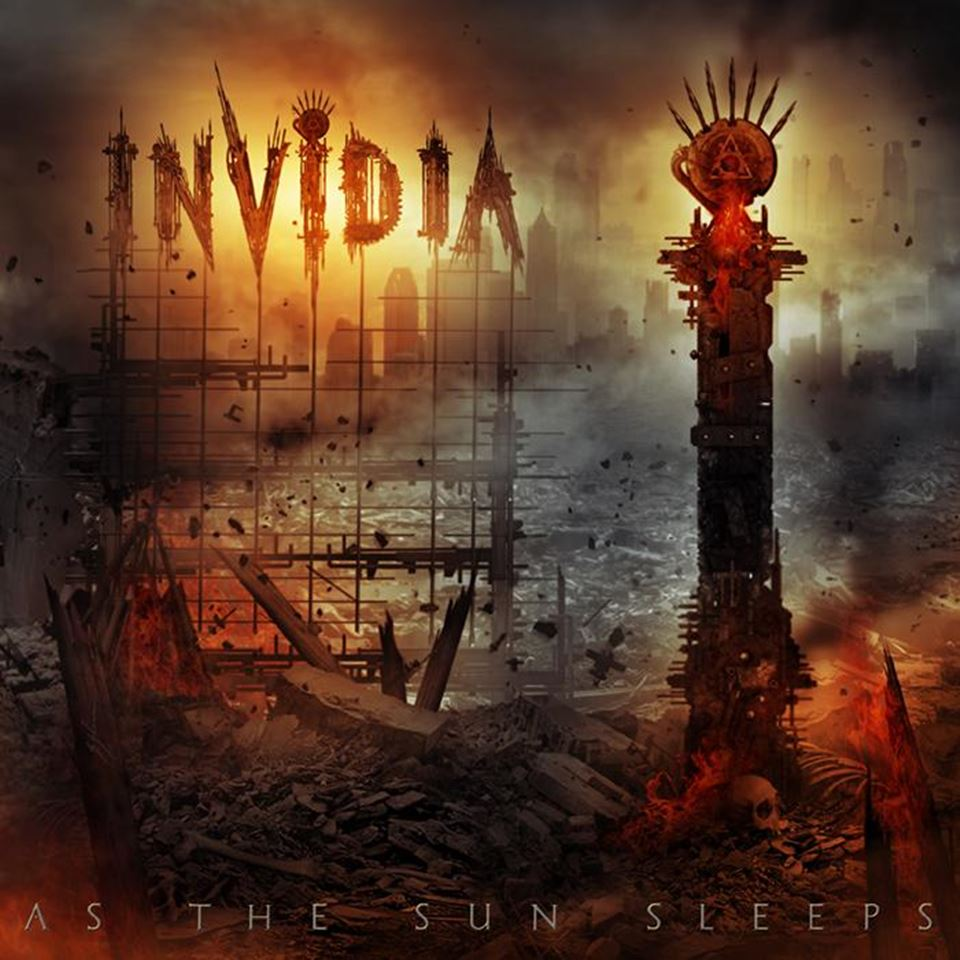 Invidia As The Sun Sleeps Album Artwork