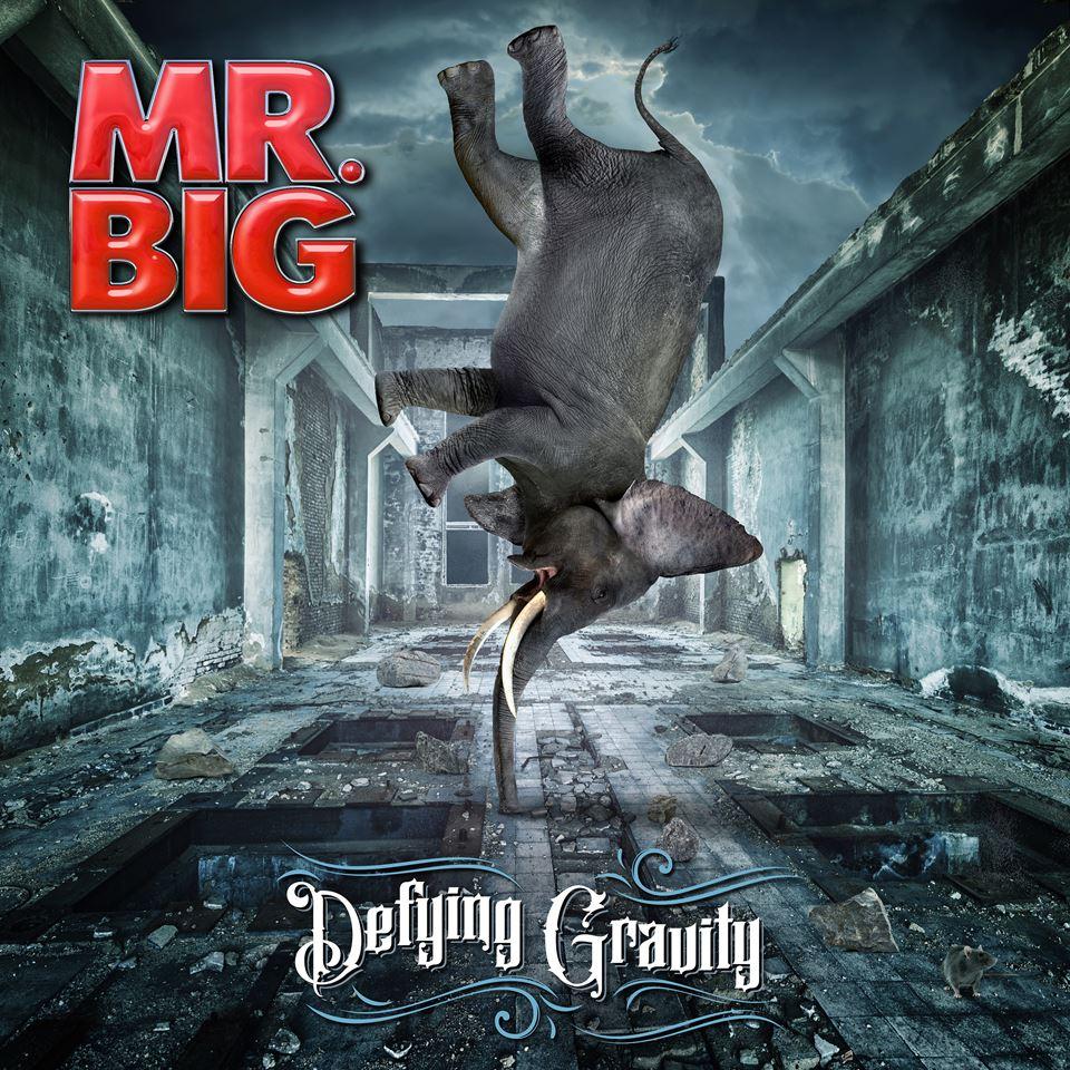 Mr. Big Defying Gravity Album Artwork