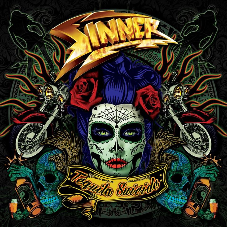 Sinner Tequila Suicide Album Artwork