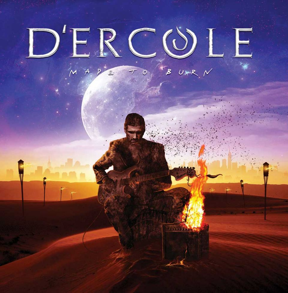 D'Ercole Made to Burn Album Cover