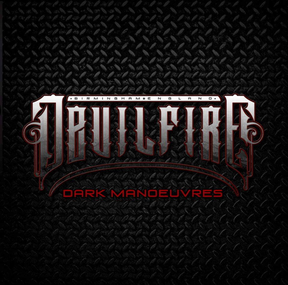 Devilfire Dark Manoeuvres Album Artwork