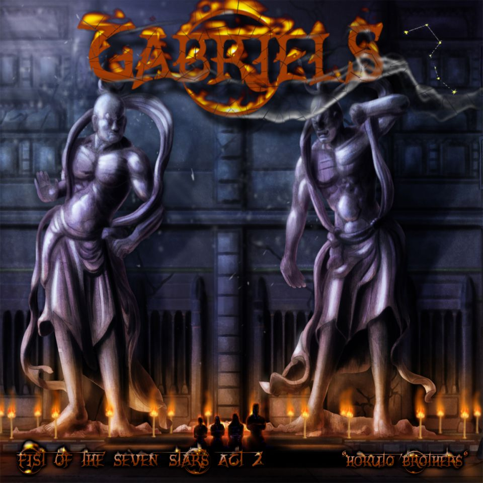 Gabriels Fist of the Seven Stars Act 2 Album Artwork