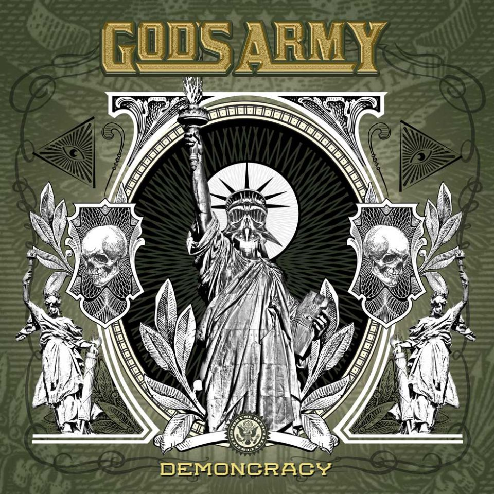 God's Army Demoncrazy Album Cover