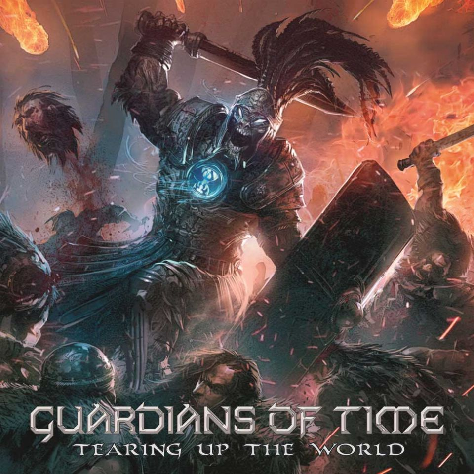 Guardians of Time Tearing up The World Album Cover