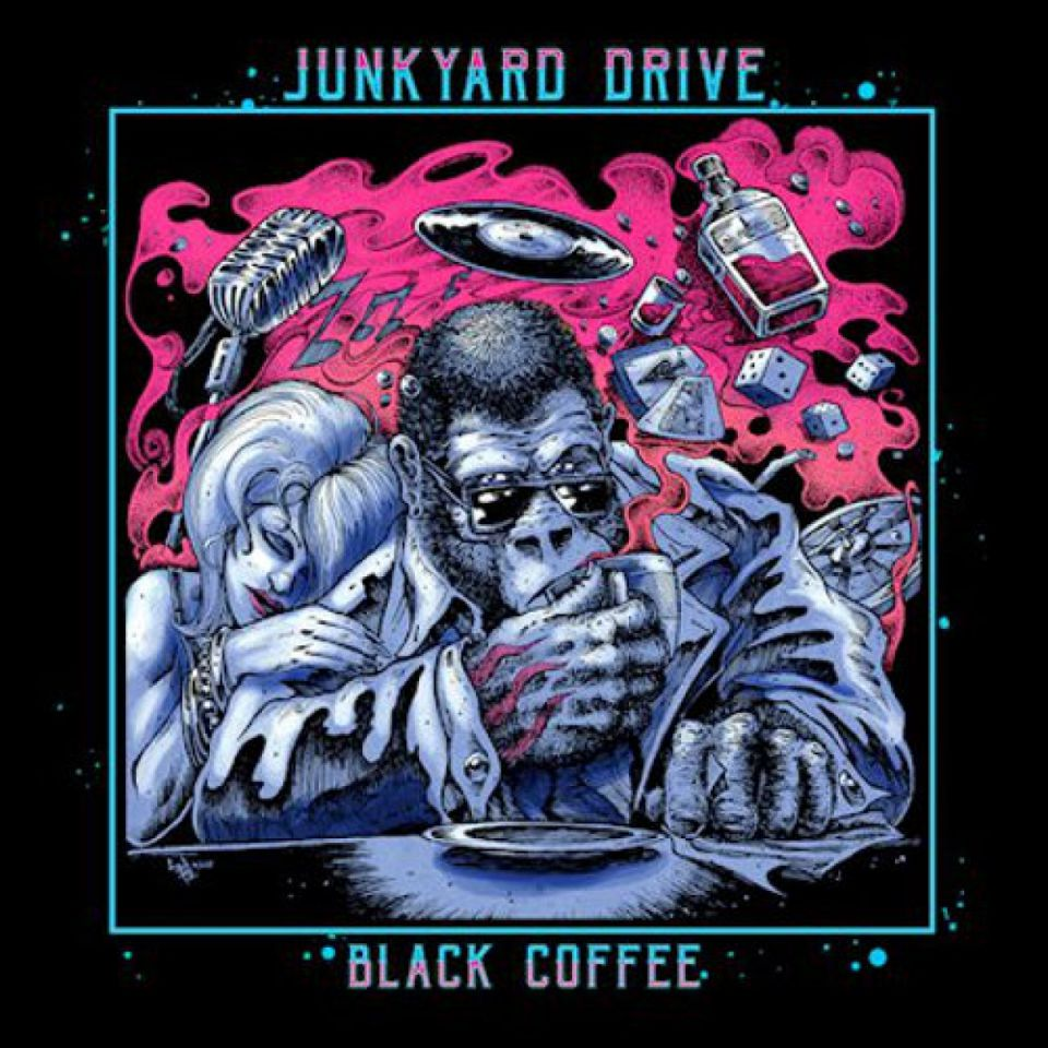 Junkyard Drive Black Coffee Album Cover