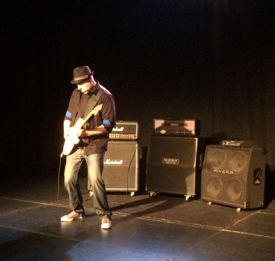 Mike Milan Dedic on Stage