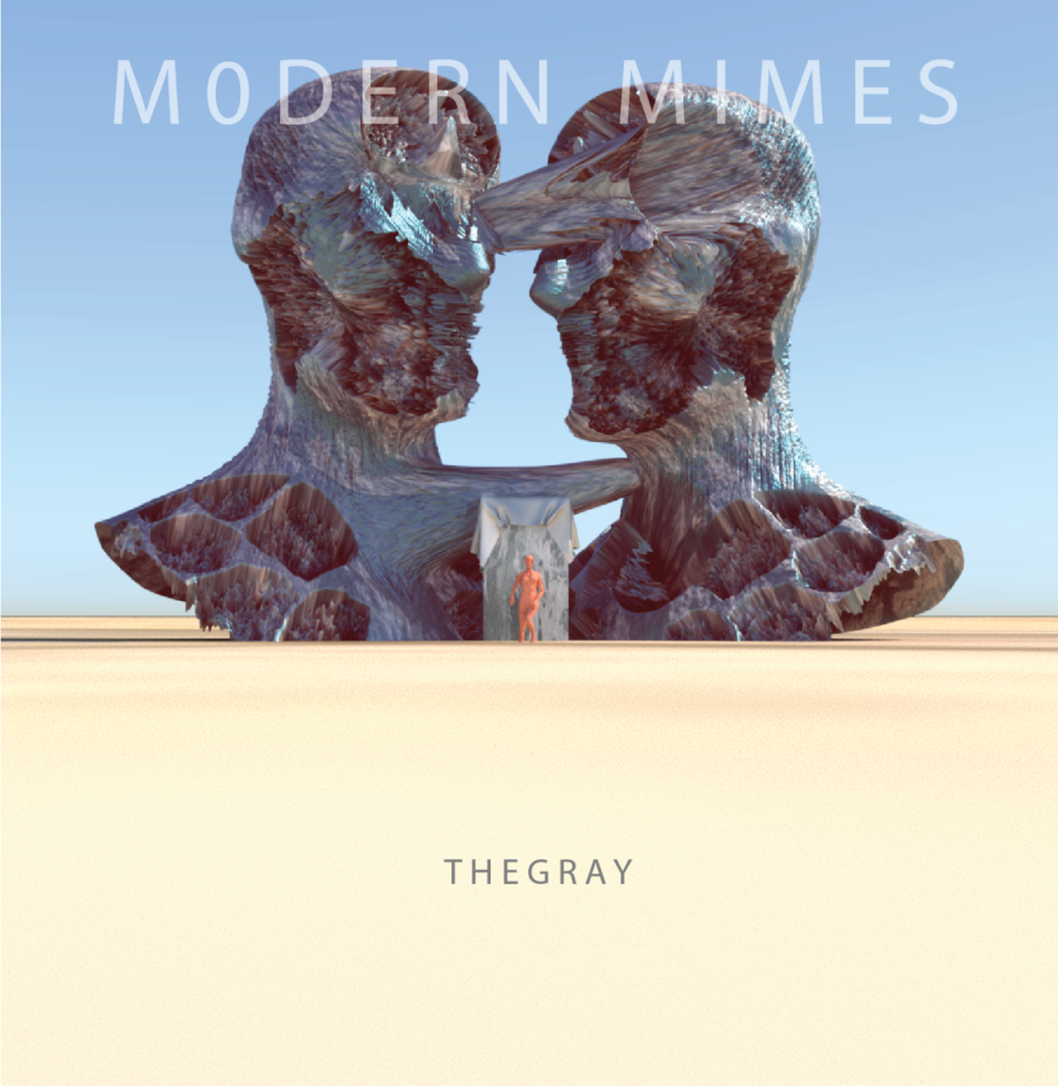Modern Mimes The Gray Album Cover