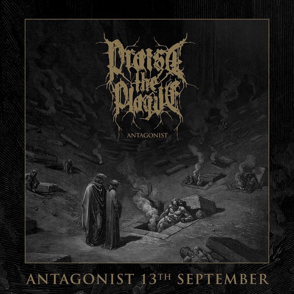 Praise The Plague Antagonist Album Artwork