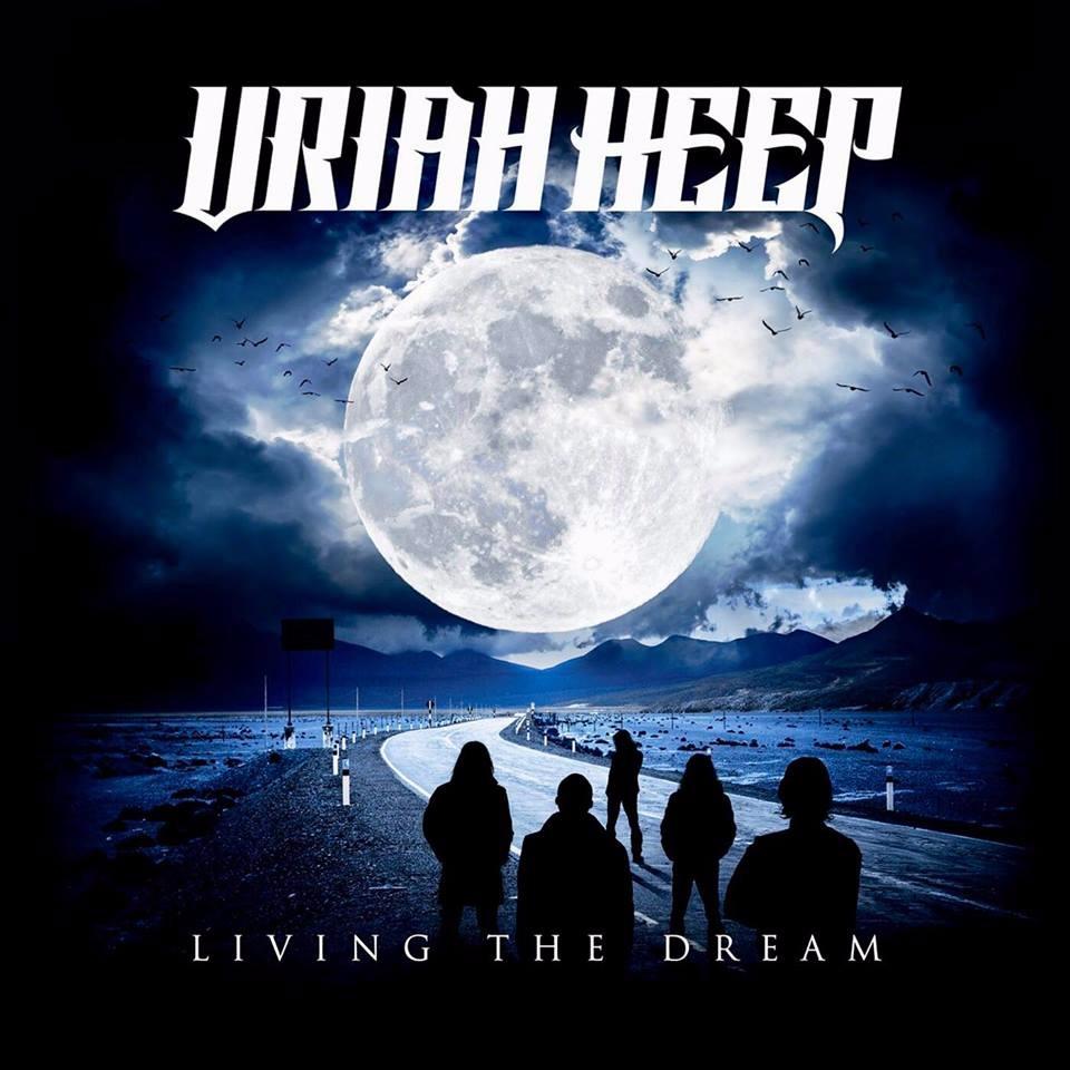 Uriah Heep Living The Dream Album Cover