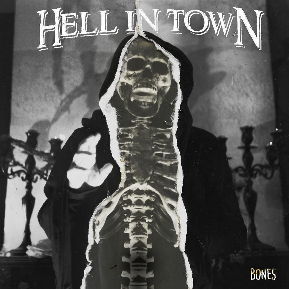 Hell in Town Bones Album Cover