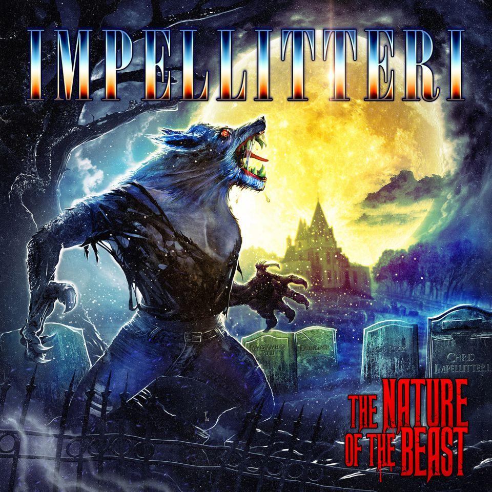 Imellitteri The Nature of The Beast Album Cover