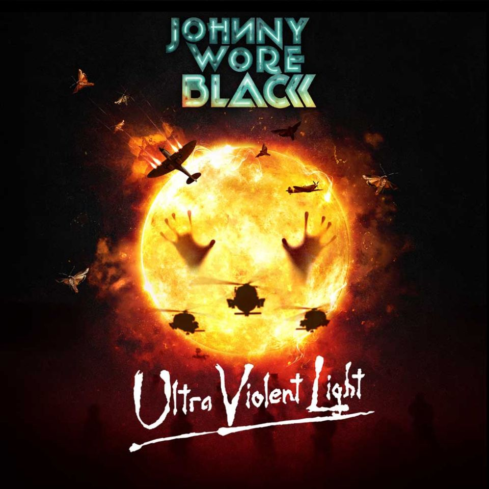 Johnny Wore Black Ultra Violent Light Album Cover