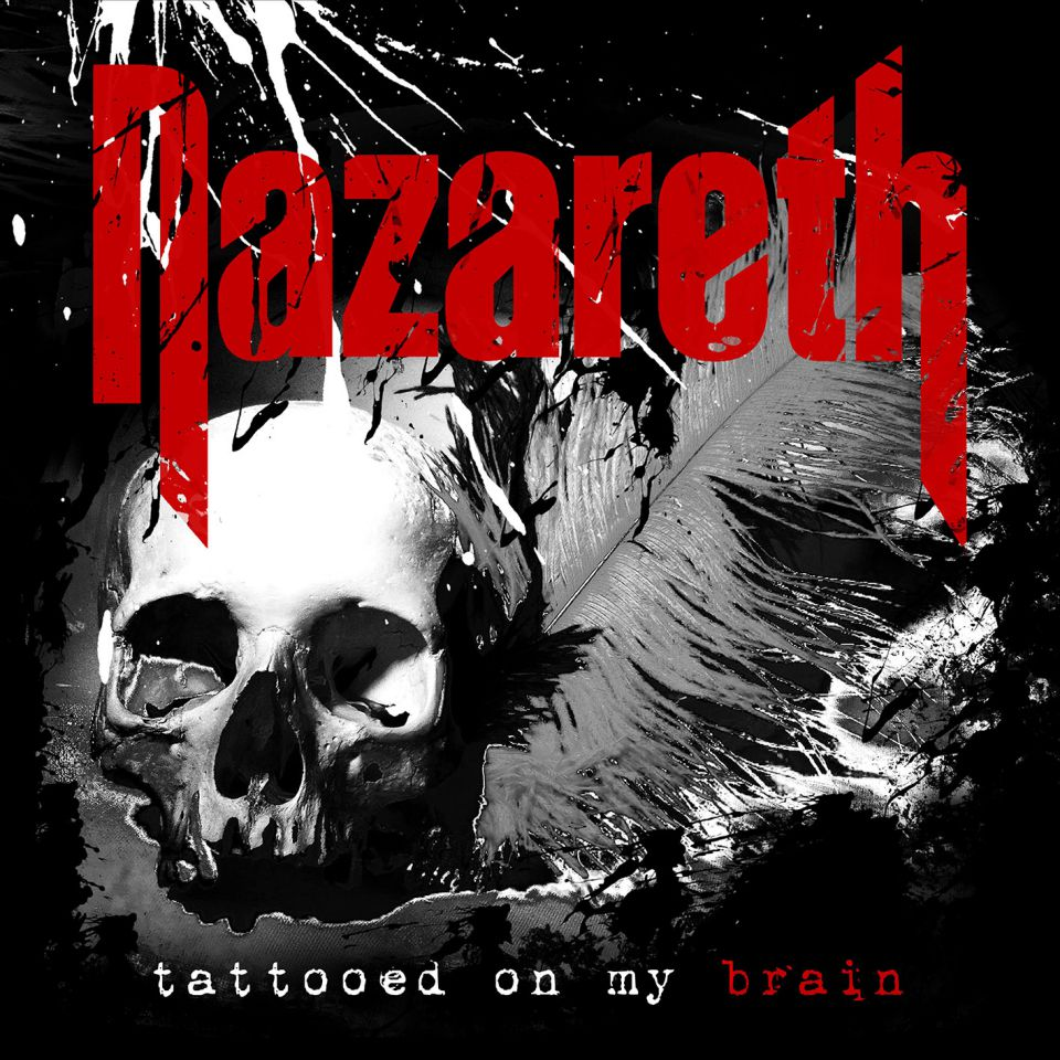 Nazareth Tattooed on my Brain Album Cover