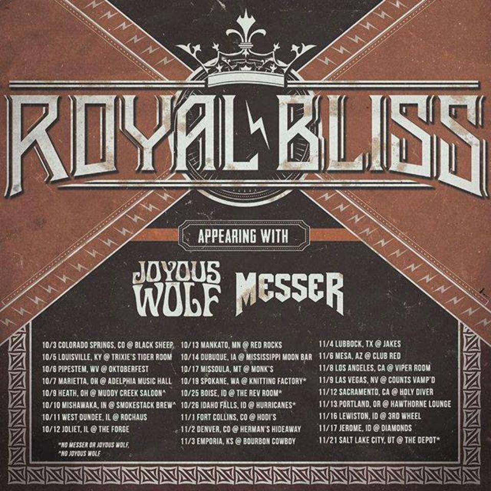 Royal Bliss Tour