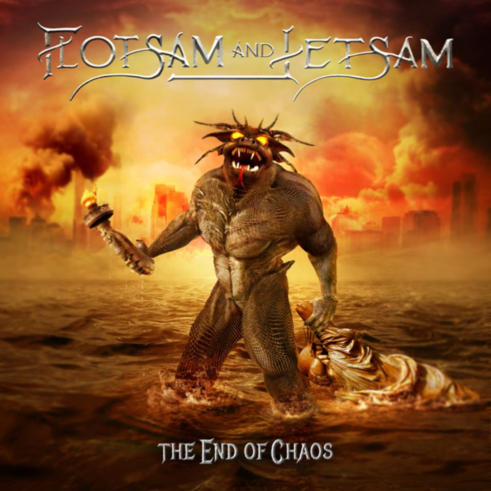 Flotsam And Jetsam The End of Chaos Album Cover