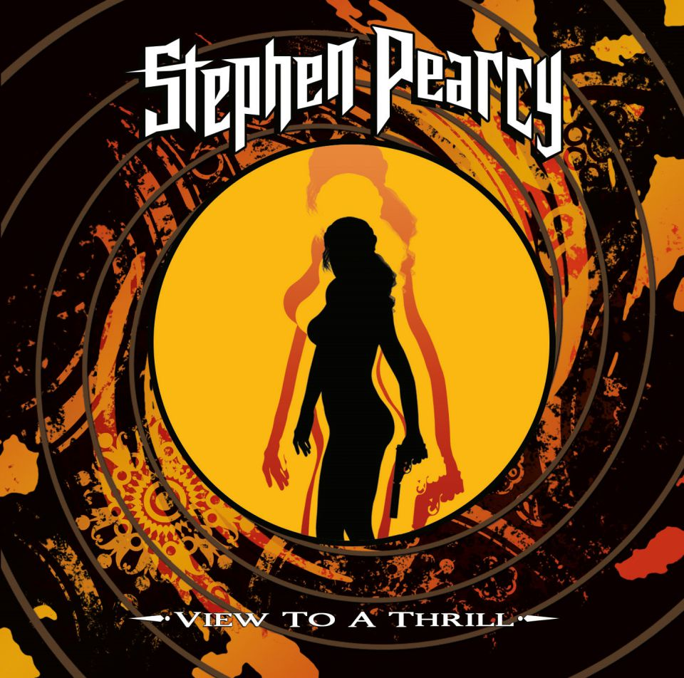 Stephen Pearcy View to a Thrill Album Cover