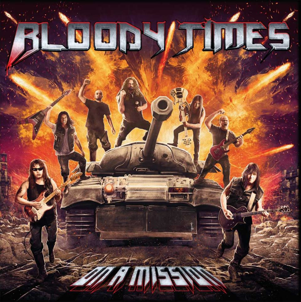 Bloody Times On a Mission Album Cover